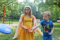 Míle pro mámu - tak se jmenuje tradiční akce, kterou uspořádal v sobotu odpoledne pro rodiny s dětmi přerovský Duha klub Rodinka.