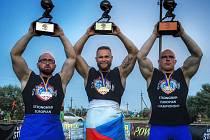 Přerovský silák Jiří Tkadlčík ovládl mistrovství Evropy strongmanů do 105 kg