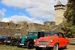 Historické vozy na Helfštýně