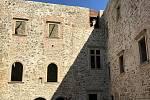 Zrekonstruovaný renesanční palác hradu Helfštýn je přístupný návštěvníkům. První víkend po otevření, 22. srpna 2020