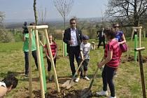 Obnova slavných Knejzlíkových sadů v Předmostí ve spolupráci s Nadací Malý Noe.