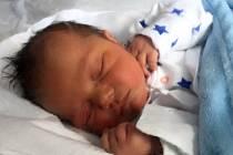 Jakub Zimmermann, narozen 12. listopadu 2017, míra 49 cm, váha 3320 g