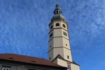 Spanilá věž na zámku v Tovačově