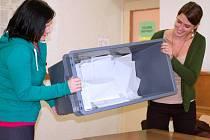 Krajské volby: počítání hlasů v Přerově
