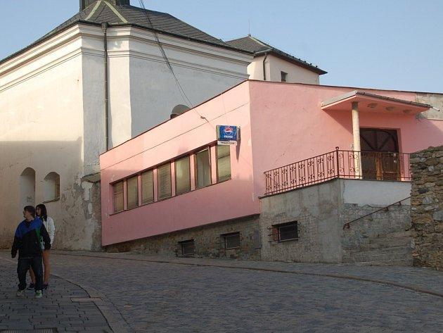 Objekt bývalé diskotéky Pegas v Přerově