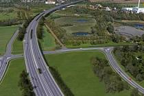 Vizualizace dálnice D1 Říkovice - Přerov. Záběr z videoprezentace ŘSD
