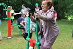 Otevření venkovního cvičiště v parku Michalov