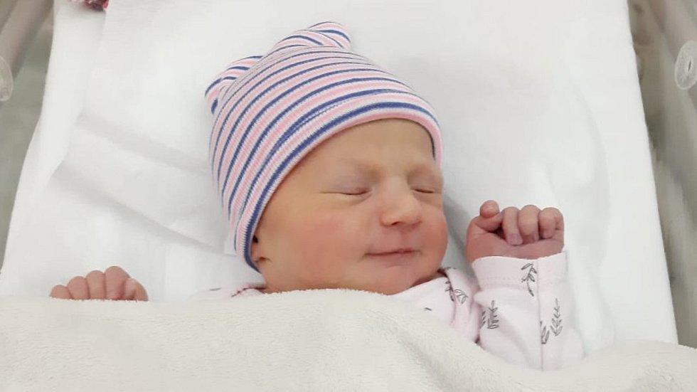Božena Mandová, Přerov, narozena 20. února 2020 v Přerově , míra 49 cm, váha 3416 g