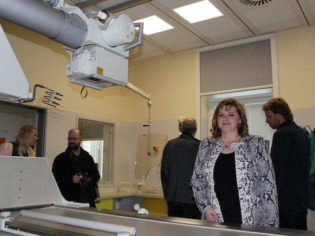 Otevření nově zrekonstruovaného pavilonu radiodiagnostiky v Přerově