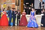 Přehlídka krásných rob, zdařilých choreografií a slavnostní stužkování - tak vypadají i letos stužkovací plesy maturitních ročníků přerovských středních škol v Městském domě.