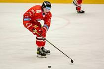 Útočník HC Olomouc Jakub Navrátil.