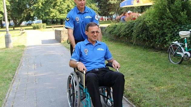 Soutěžní odpoledne pořádané v Přerově sdružením Alfa handicap