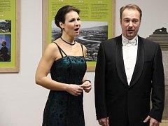Život i dílo Bedřicha Smetany si v pátek v podvečer připomněli lidé v muzeu v Týně nad Bečvou, které je věnováno slavnému skladateli. Foto: Deník/Iva Najďonovová