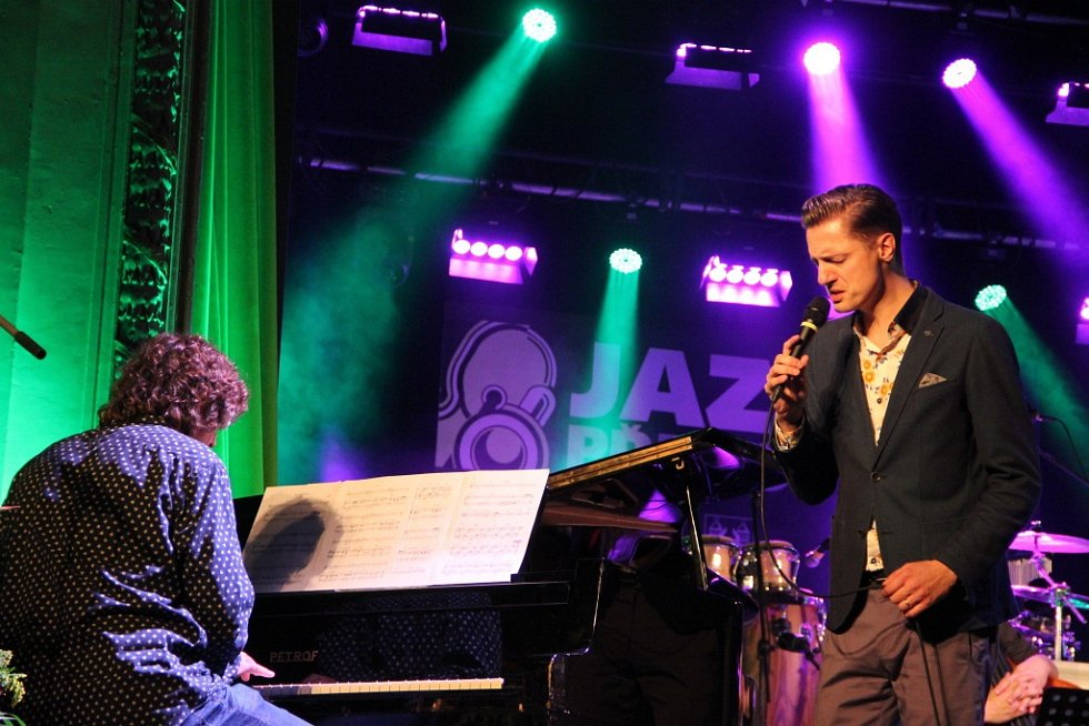 Ondřej Ruml s kapelou na Československém jazzovém festivalu v Přerově