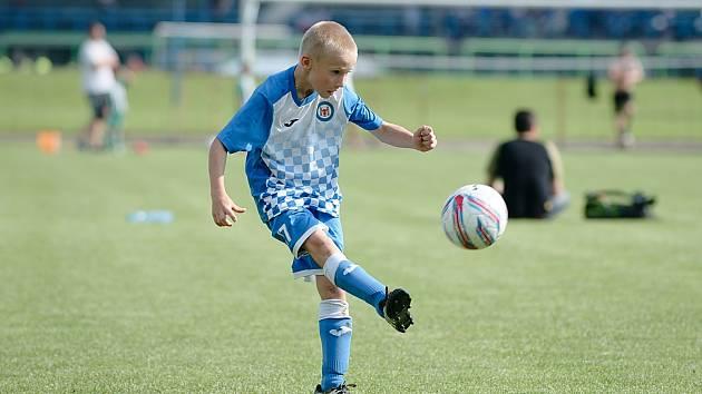 Mladí fotbalisté v Přerově. Ilustrační foto
