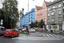 Žerotínovo náměstí 4, kde by měl vzniknout průchod do Kainarovy ulice.