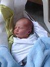 Adam Valašík, Přerov, narozen dne 2. června vPřerově, míra 53 cm, váha 4000 g