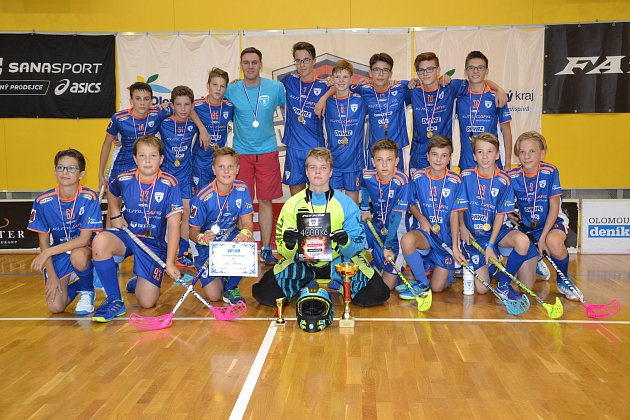 Florbalisté FBC Přerov na Moravian Cupu v Olomouci