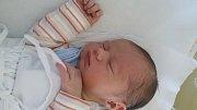 Michal Sikora, Domaželice, narozen dne 8. dubna vPřerově, míra 52 cm, váha 3672 g