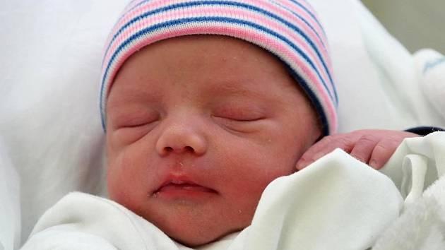 Čestmír Kouřil, narozen 21. ledna 2019 v Přerově, míra 47 cm, váha 2008 g