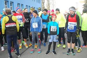 Silvestrovský běh v Přerově v roce 2019.