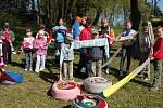 Měření rekordní šály v Pavlovicích