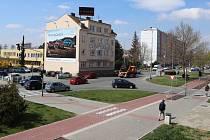 Dvě kamery, které budou mapovat dopravní situaci, se objeví také v ulici Velká Dlážka v Přerově.