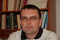 Ředitel Muzea Komenského v Přerově Radim Himmler
