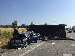 Vážná dopravní nehoda u Lipníku