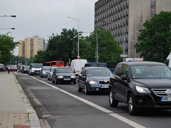 Dopravní kolaps vPřerově