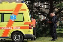 V Přerově spadla mohutná větev na dvě ženy a zranila. Nehoda se stala mezi Šrobárovou ulicí a tř. 17. listipadu