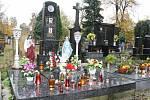 Přerovský hřbitov v době Dušiček 2020