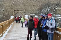 Novoroční výšlap na Helfštýn - sobota 2. ledna 2016