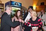 Hranická spisovatelka Jaroslava Černá pokřtila v sobotu 21. listopadu svůj v pořadí již čtvrtý román – Rozmary lásky poslední paní Rožmberské.