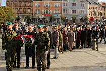 Vzpomínková akce k 97. výročí vzniku Československa v Přerově