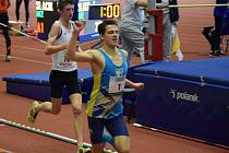 O jediné stříbro z MMaS v Ostravě se postaral v běhu na 3000 metrů dorostenec Václav Vandrovec