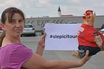Slepičí tour zavítala i do Přerova.