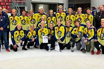 Dorostenci HC Zubr Přerov ovládli turnaj v Českých Budějovicích