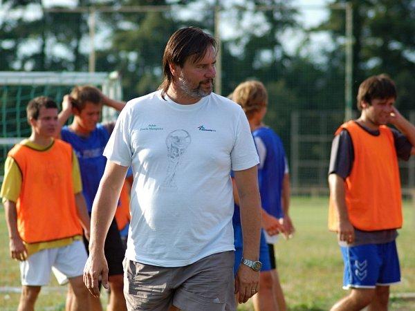 Trenér Přerova Richard Švehlík