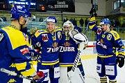 Hokejisté Přerova slaví výhru nad Karlovými Vary (1:0)