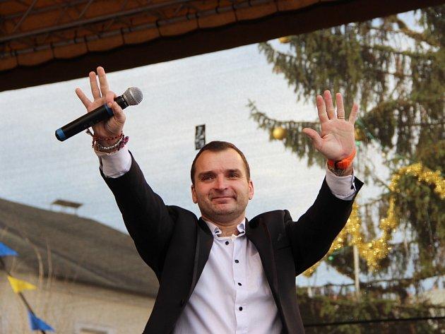 Vánoční koncert Pavla Nováka v Přerově