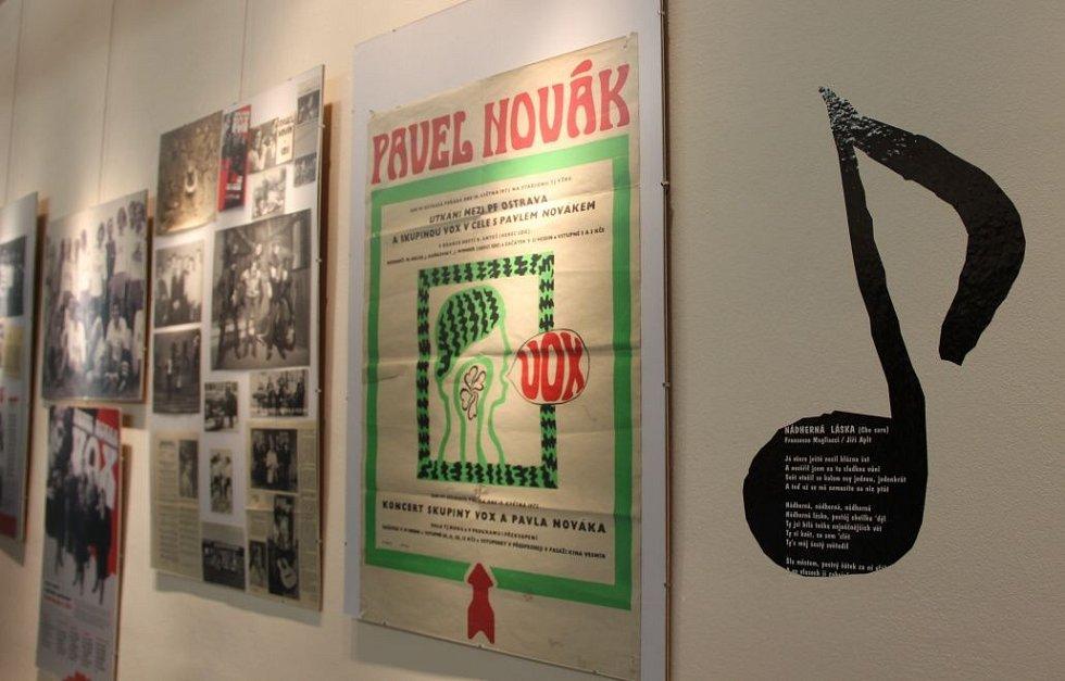 Výstava k nedožitým sedmdesátinám Pavla Nováka v Přerově