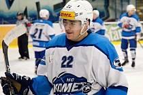 Hokejový útočník Petr Kratochvíl.