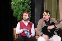 Přerovské amatérské divadlo Dostavník - hra Alibisti