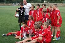 Tým Vsetína, vítěz turnaje mladších žáků v Lipníku nad Bečvou