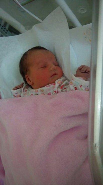 Veronika Málková, Soběchleby, narozena 19. ledna 2019 v Přerově, míra 49 cm, váha 3 700 g
