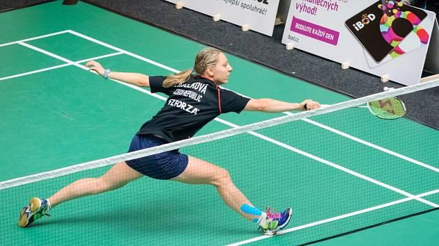 Přerovská badmintonistka Zuzana Pavelková vybojovala v Praze bronz v extralize smíšených družstev s týmem Českého Krumlova