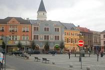 Náměstí TGM v Přerově. Ilustrační foto