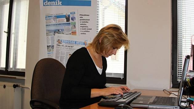 Alergoložka Ivana Lančová při on-line rozhovoru