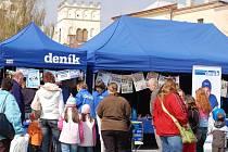 Den s Přerovským deníkem si v Lipníku na Bečvou užívali v pátek 18. dubna.
